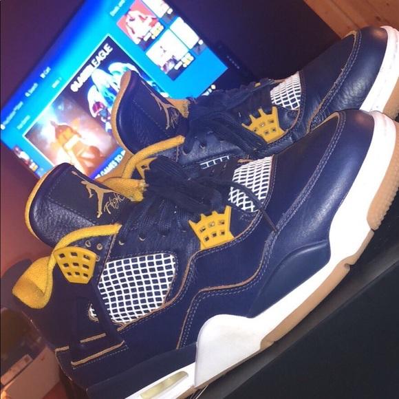 quality design d4922 49352 Air Jordan Retro Michigan 4s (No Box)